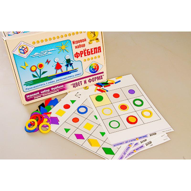 Игровой набор Фребеля Комплект для младшей группы (3-4 года)