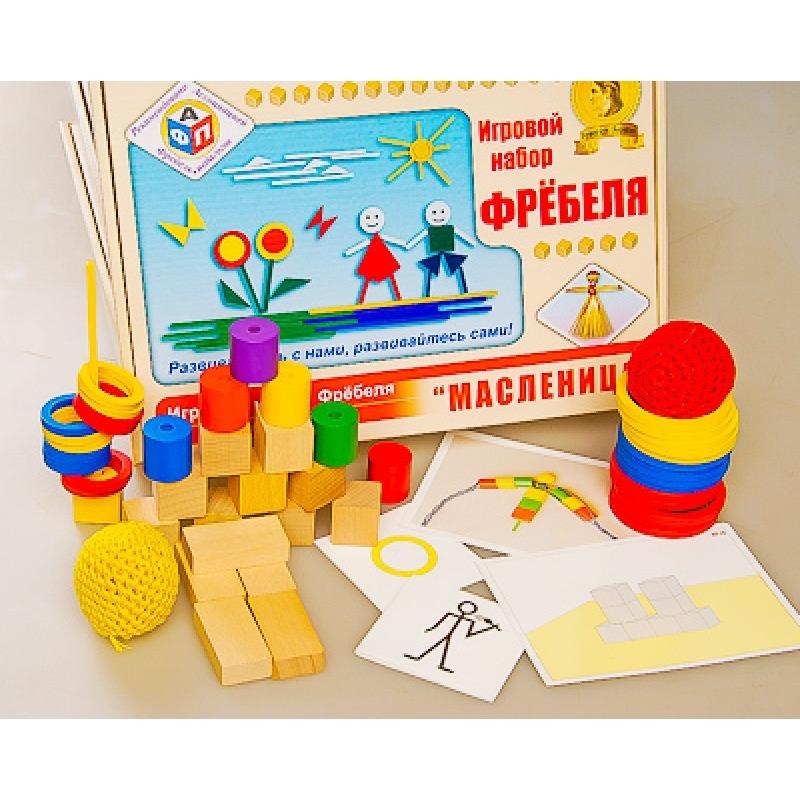 Игровой набор Фребеля Комплект для средней группы (4-5 лет)