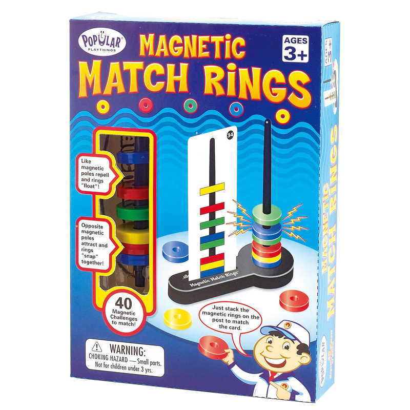 """Занимательная головоломка """"Магнитные кольца"""". Стартовый набор"""