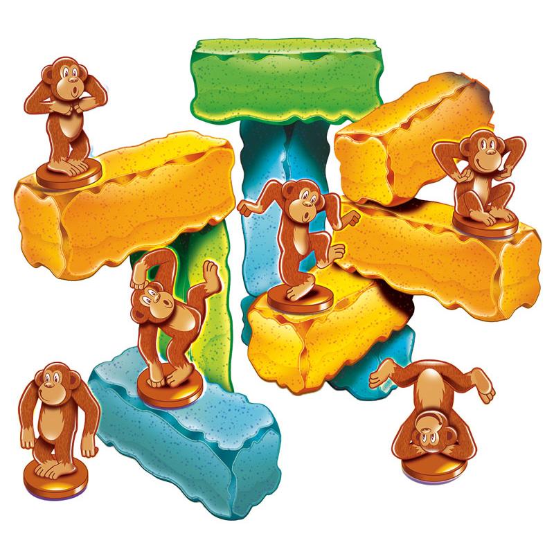 """Занимательная головоломка """"Мартышки на блоках"""".Стартовый набор"""