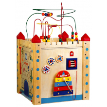 """Большой дидактический куб """"Замок"""""""