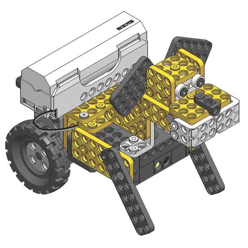 Образовательный робототехнический конструктор «Введение в программирование». Базовый набор 6-10 лет.