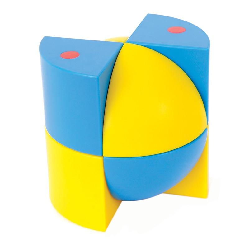 Развивающий конструктор Набор Полидрон Магнитные блоки 3D (комплект на группу)