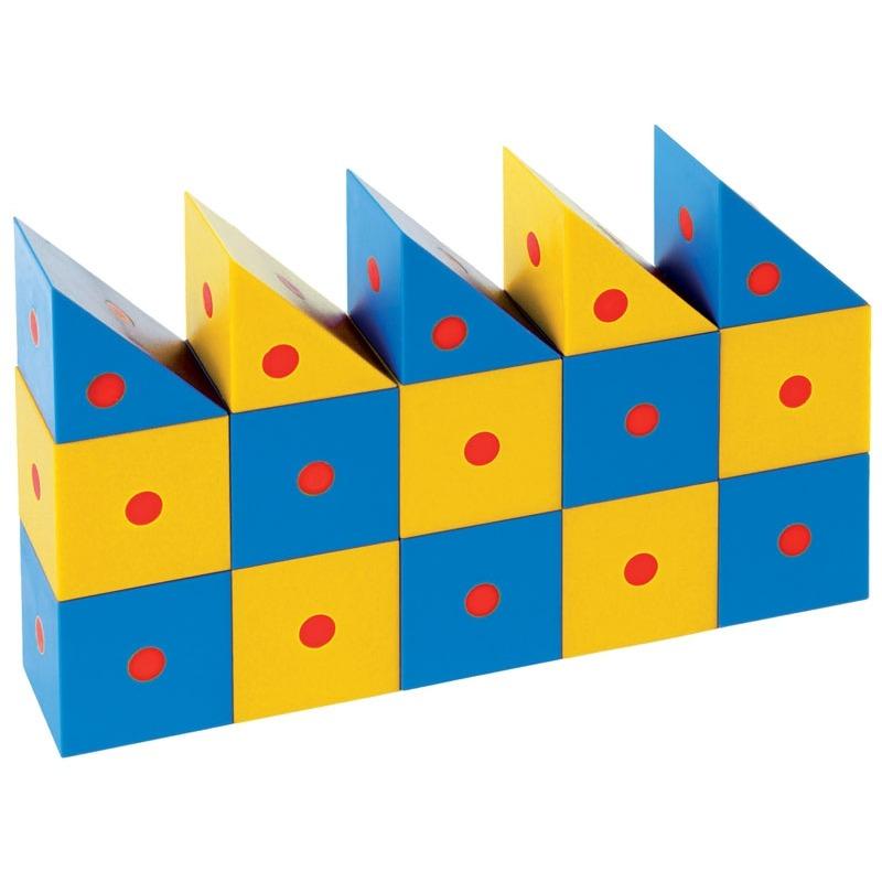Развивающий конструктор Набор Магнитные блоки 3D