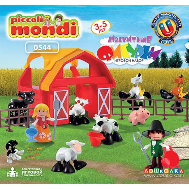Магнитные фигурки. Игровой набор. «Ферма расширенный».