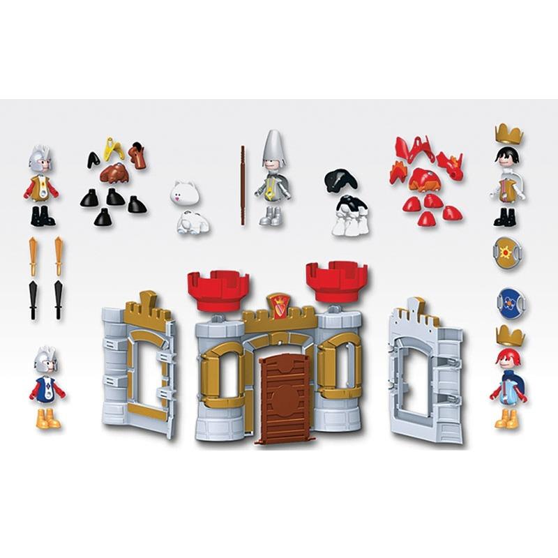 Магнитные фигурки. Игровой набор. «Замок рыцарей».