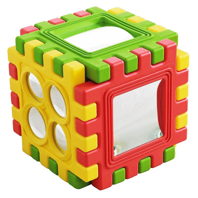 Тактильный зеркальный куб