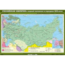К-1800 Комплект настенных учебных карт. История России. 8 класс