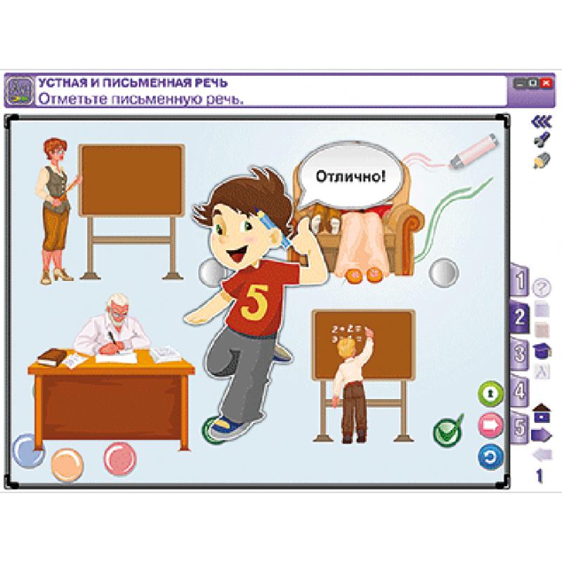 Русский язык 1 класс. Звуки и буквы. Синтаксис. Состав слова. Орфография