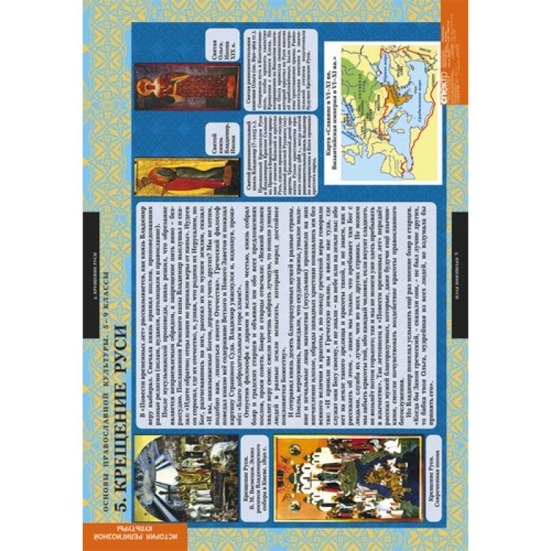 ИСТОРИЯ РЕЛИГИОЗНОЙ КУЛЬТУРЫ Основы православной культуры 5-9 кл.
