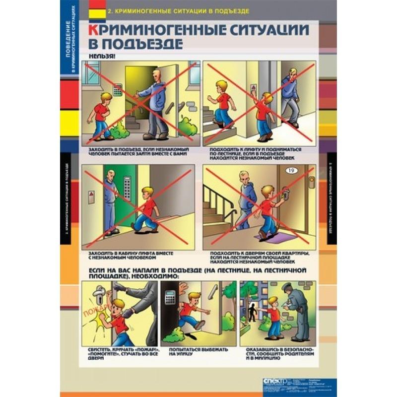 ОБЖ  Поведение в криминогенных ситуациях