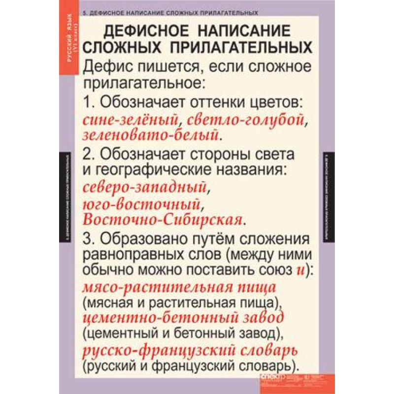 РУССКИЙ ЯЗЫК - 6 КЛ.