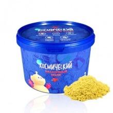 Космический песок 2 кг. Цвет - желтый