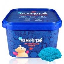 Космический песок 3 кг. Цвет - голубой