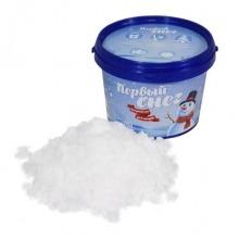 «Первый снег». Пластиковое ведерко