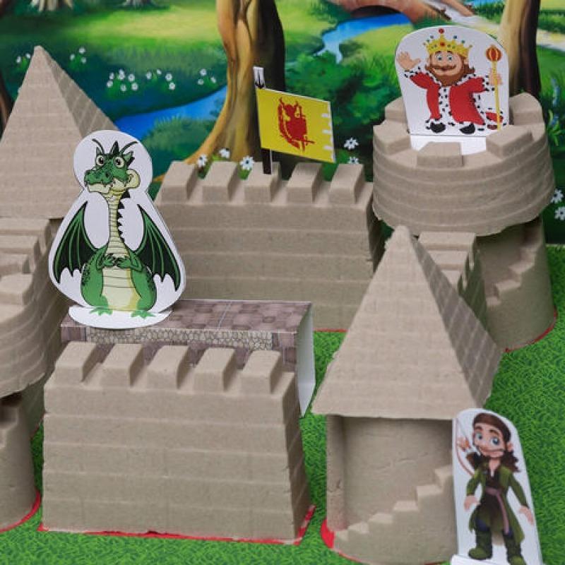 «Замок» 2 кг. Тянущийся песок