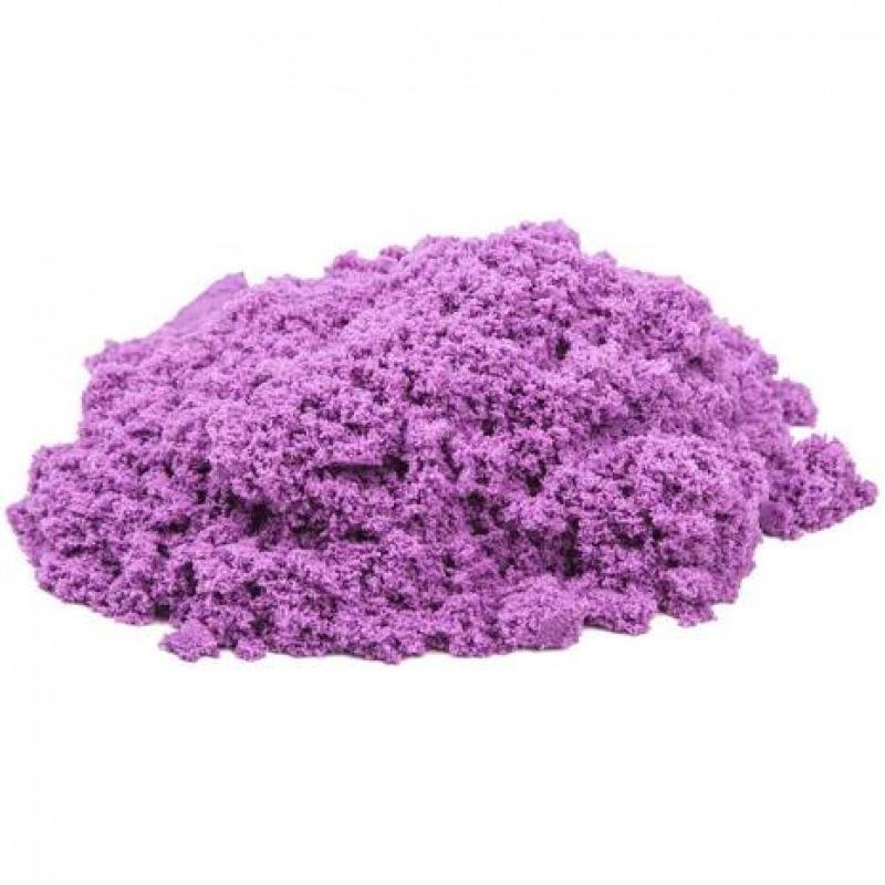Космический песок 1 кг. Цвет - сиреневый