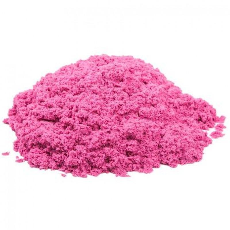 Космический песок 1 кг. Цвет - розовый