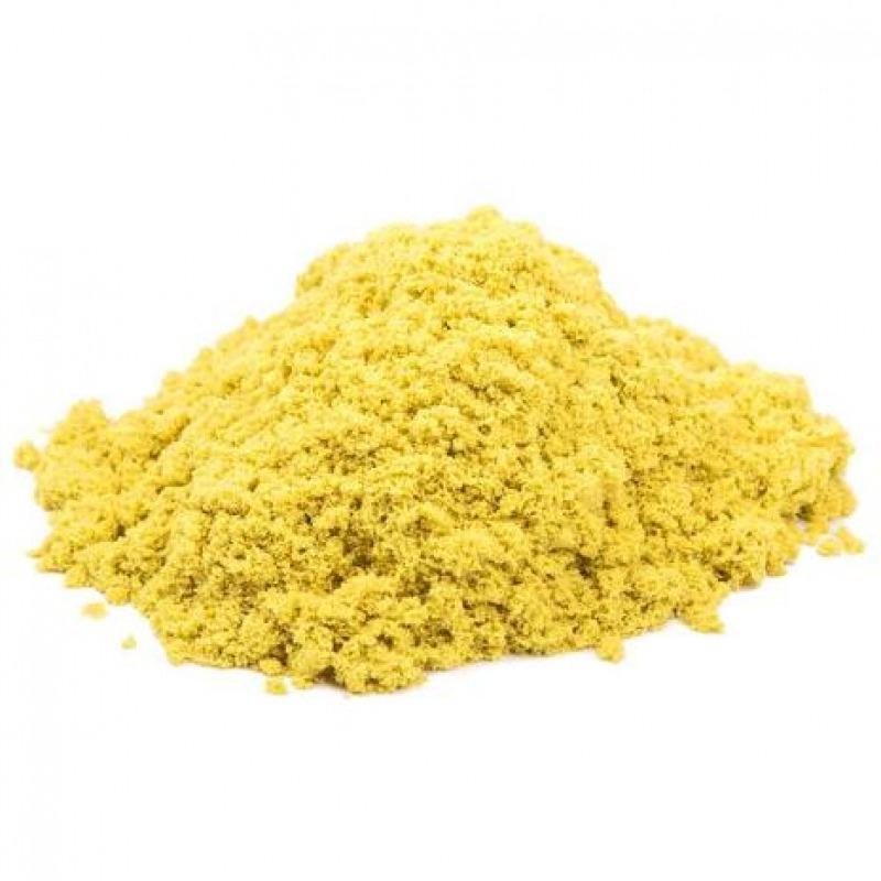 Космический песок 3 кг. Цвет - желтый