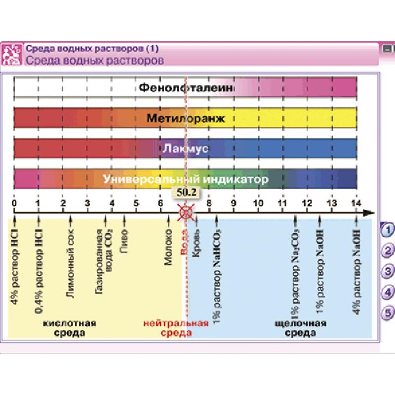 Наглядная химия. Растворы. Электролитическая диссоциация
