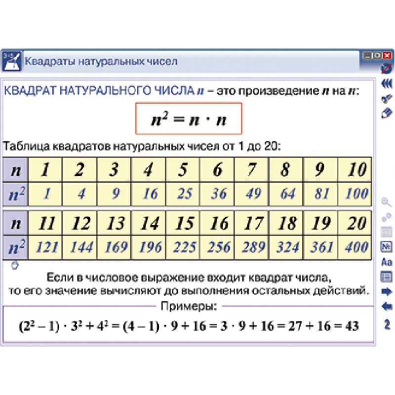 Наглядная математика. 5 класс