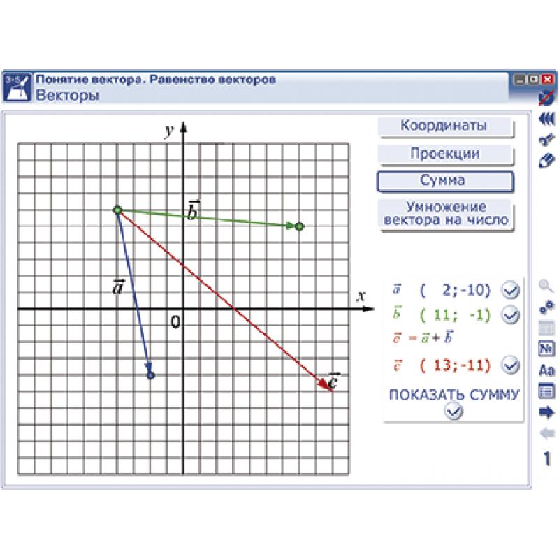 Наглядная математика. Векторы
